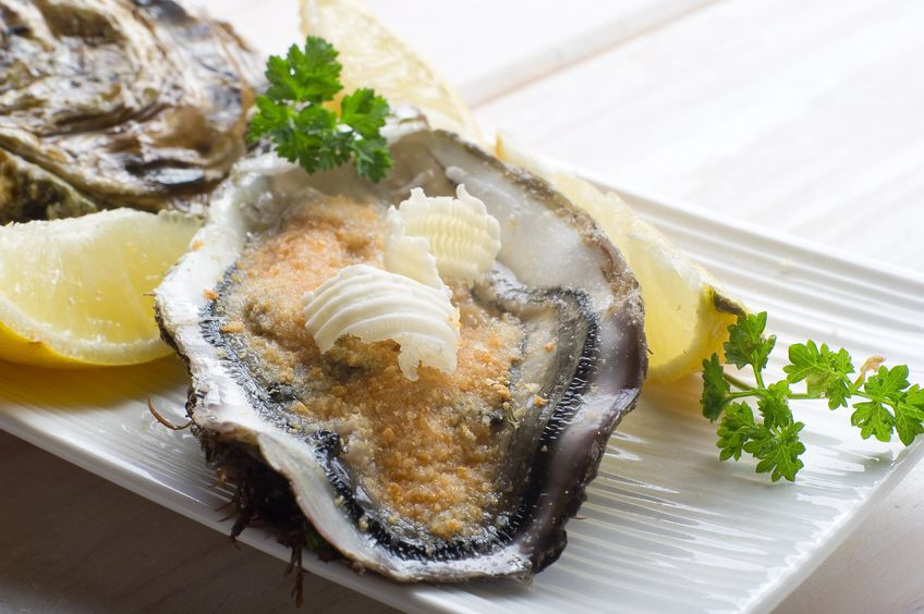 10408612 - oyster au gratin